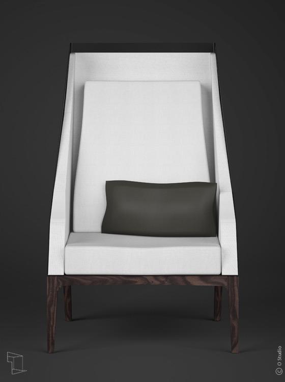 fauteuil de lecture dfl1 ostudio. Black Bedroom Furniture Sets. Home Design Ideas