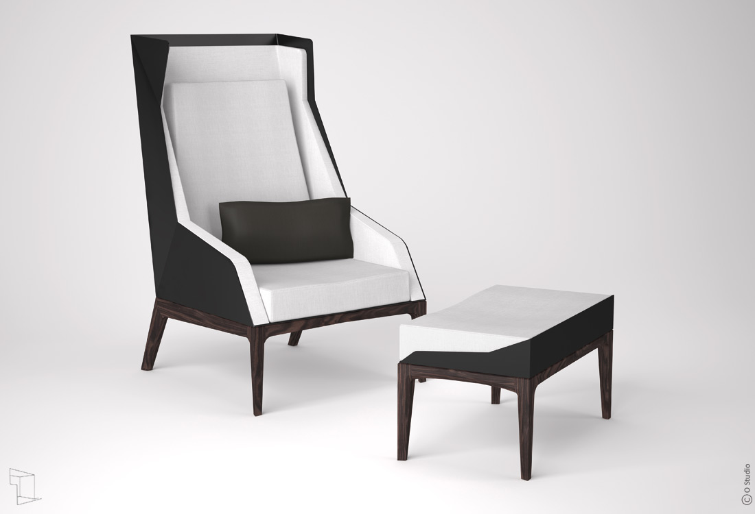 fauteuil de lecture dfl1 ostudio. Black Bedroom Furniture Sets. Home Design Ideas